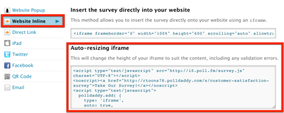 New: Auto-Resizing iframe Makes for Seamless Survey Embeds