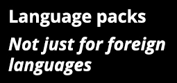Language Packs